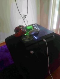Play station 4  and 2 controllers