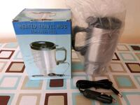 New heated coffee mug stainless car adapter Mississauga, L5M 7L9