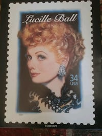 Lucille Ball 34 USA postage stamp Paramount, 90723
