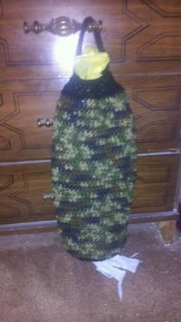 Camo Theme  Handmade Plastic Bag Sock Easton, 18042