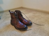 Aston Grey Brown leather boots size 13 Tampa, 33602