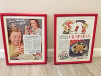 Framed Vintage Ads CHESTERFIELD