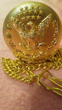 Men's gold (plated) pocket watch. Bluffs, 62621