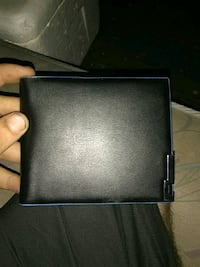 black leather bi-fold wallet Webb City, 64870