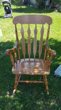 Wooden rocking chair Kitchener, Ontario, N2E 1A6
