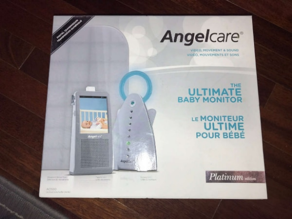 Platinum Edition Angelcare Video Movement and Sound Monitor AC1100