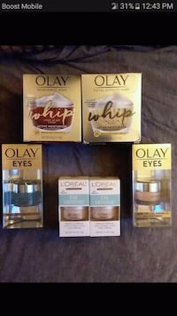 Olay and L'Oreal beauty products Colorado Springs, 80919