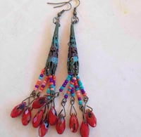 Boho handmade earrings