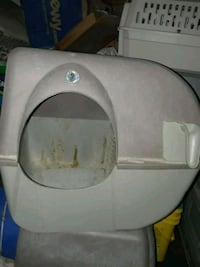 Omega Paw roll over litter box Large