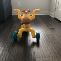 Little tikes ride, fisher price chair, and stand  and walk toy  Woodbridge, 22192