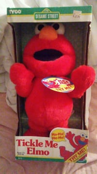 Vintage (New) TICKLE ME ELMO by Tyco Cherry Hill, 08003