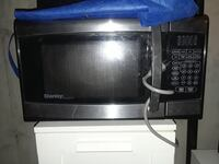 grey Danby microwave oven
