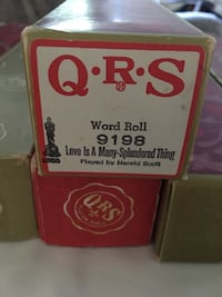 QRS Player Piano rolls each REDUCED!!  Mount Airy, 21771