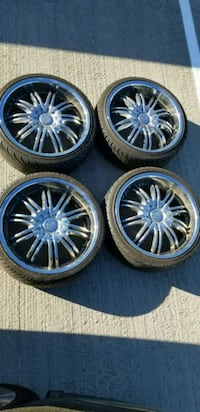 20 rims with tires  Fairfax