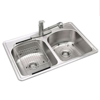 Glacier Bay All-in-One Drop-in Stainless 33x22x8 i Palatine, 60074