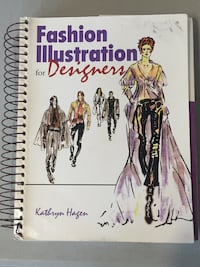 Fashion Illustration for Designers textbook