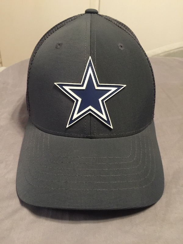 Used Charcoal Grey Dallas Cowboys Flexfit Hat. L XL for sale in Santa Clara  - letgo e0034f721