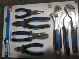 6 Piece Wrench and Plier set