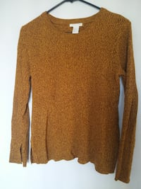 Knit Top Mustard M Burnaby