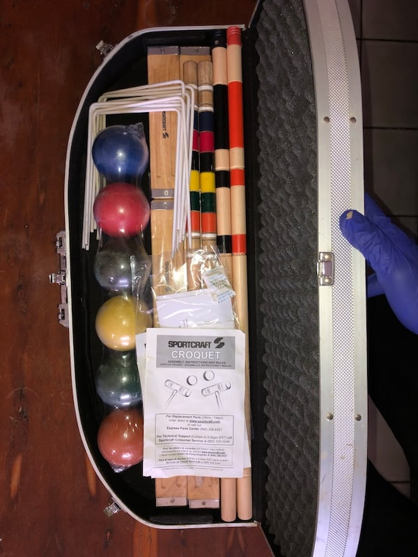 Sports Craft Croquet Set. 6718ea87-9b16-4ca3-b34e-59cb2a71ed7e