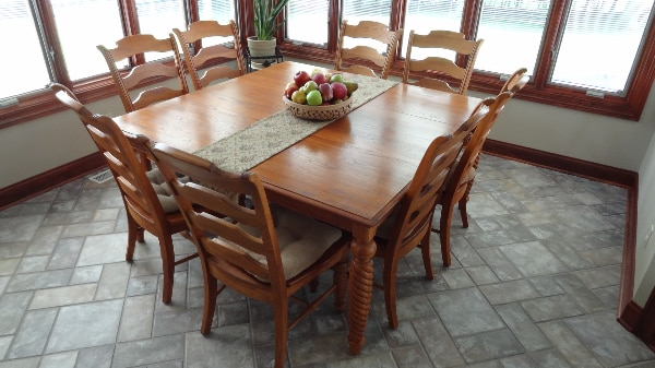 Keller Solid Natural Cherry Kitchen Table