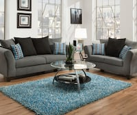new Sofa & Loveseat---0-50DOWN--PLEASE READ WHOLE AD