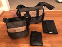 Eddie Bauer diaper bags. Changing mat with both. We never used these more than once or twice. Other than that brand new. Greenville, 27834