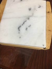 Cutting  board with removable marble top   Mississauga, L4W 1C9