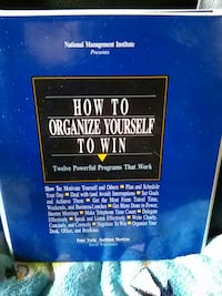 "Self Help -""How to Organize yourself to win"""