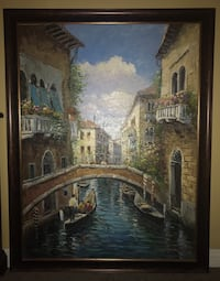 Beautiful framed Painting Upland, 91786