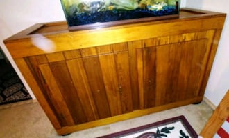 Pure wood chest