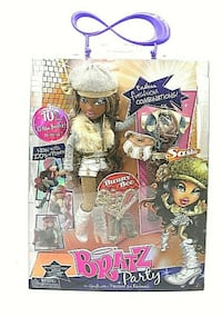 "Bratz Dolls - 10th Anniversary Party "" Sasha"" Fashion Doll"