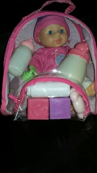 Baby doll with accessories