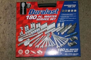 Duralast 180 PC socket tool set