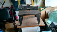 Sears router table and fence  152 mi