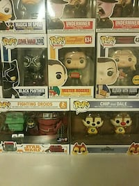 four Pop ! vinyl figures Gaithersburg, 20877