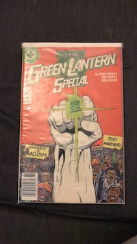 Green Lantern Special #1 and GL Corps Quarterly #1 Mount Airy, 21771
