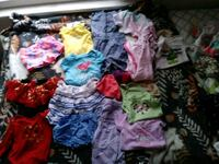 toddler's assorted-color clothes lot 152 mi