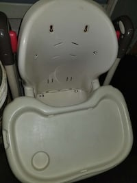 baby's white high chair Surrey, V3T 2E5