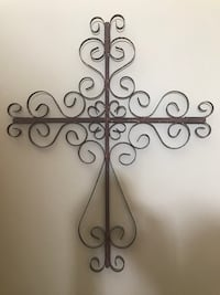 Wrought iron cross Stafford, 22556