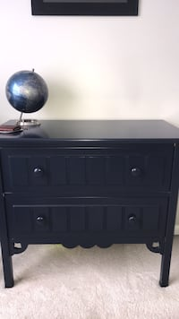 Navy Blue wooden 3-drawer chest Germantown, 20874