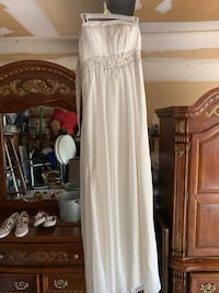 White prom dress, evening gown, wedding Guilford Hills, 17202