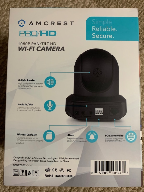 Security cameras 1080P by Amcrest