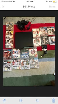 PS3, 20 games, 2 Controllers, controller charger Mc Lean, 22102