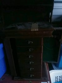 black and gray wooden dresser South Glens Falls, 12803