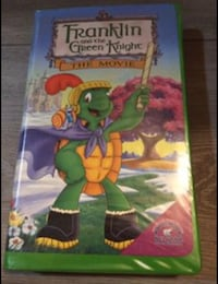 Franklin and the Green Knight VHS Movie San Leandro, 94577