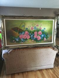 white and pink floral wooden cabinet Calgary, T2J 4T6