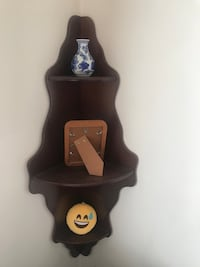 Corner shelf. From Bombay Furniture. Burnaby, V5H 1Z9