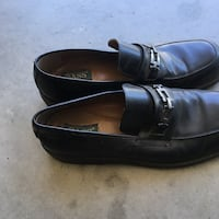pair of black leather dress shoes Fresno, 93722
