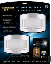 NEW Motion-Activated Wireless LED Light Set   Pickering, L1V